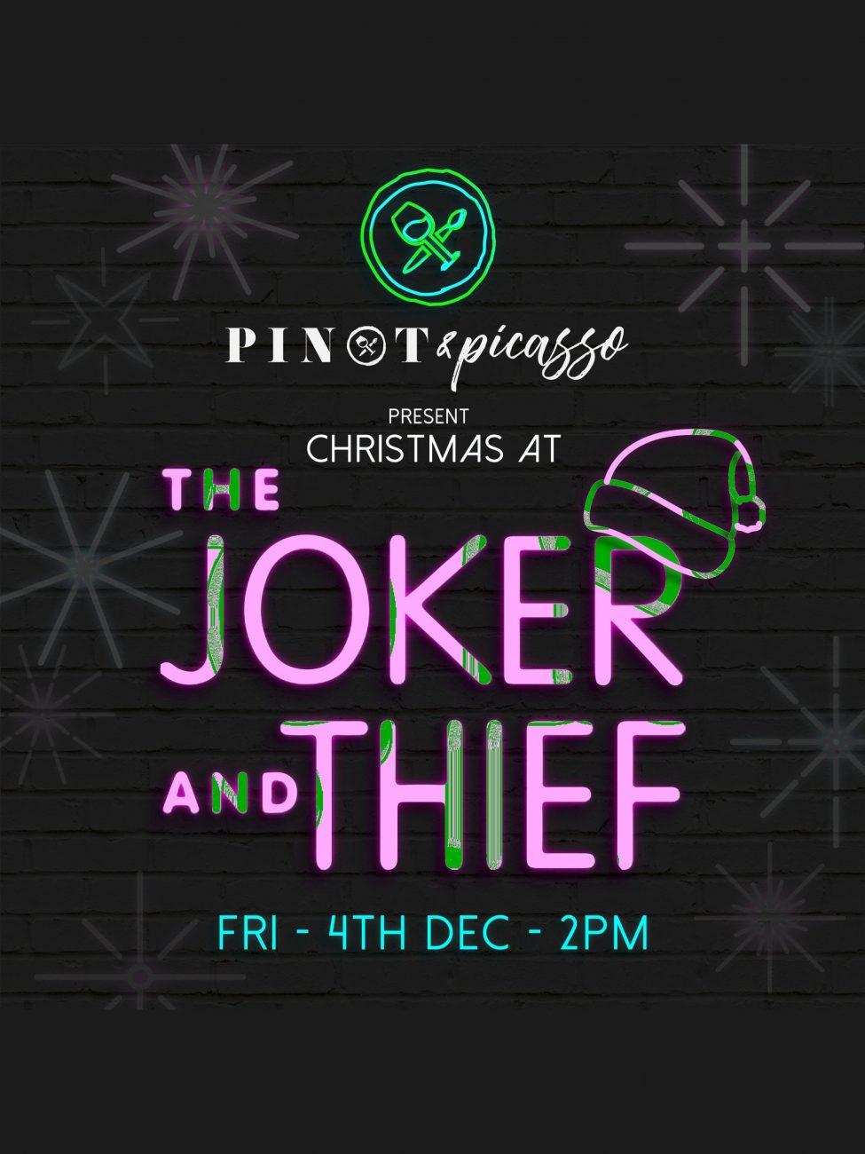Christmas at The Joker and Thief