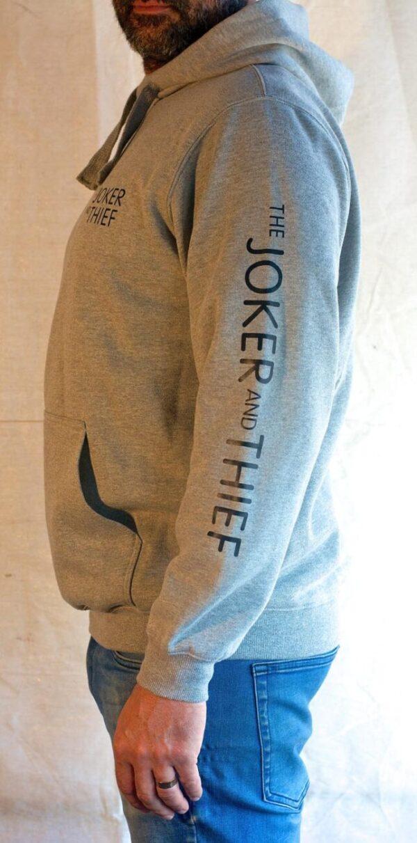 Grey hoody left