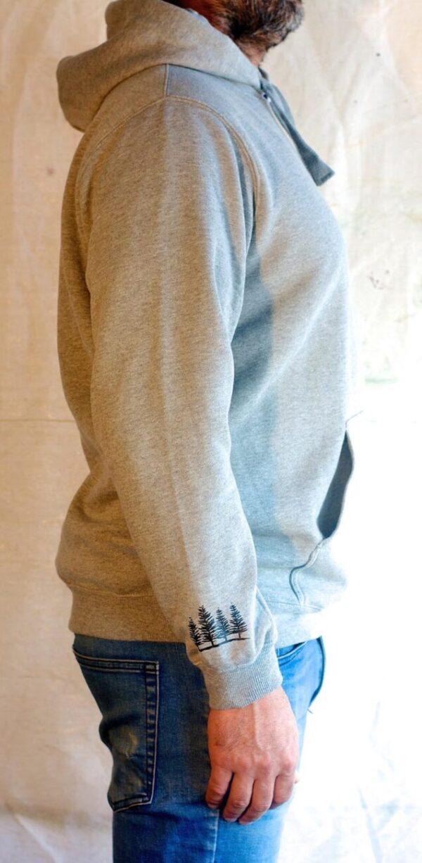 Grey hoody right