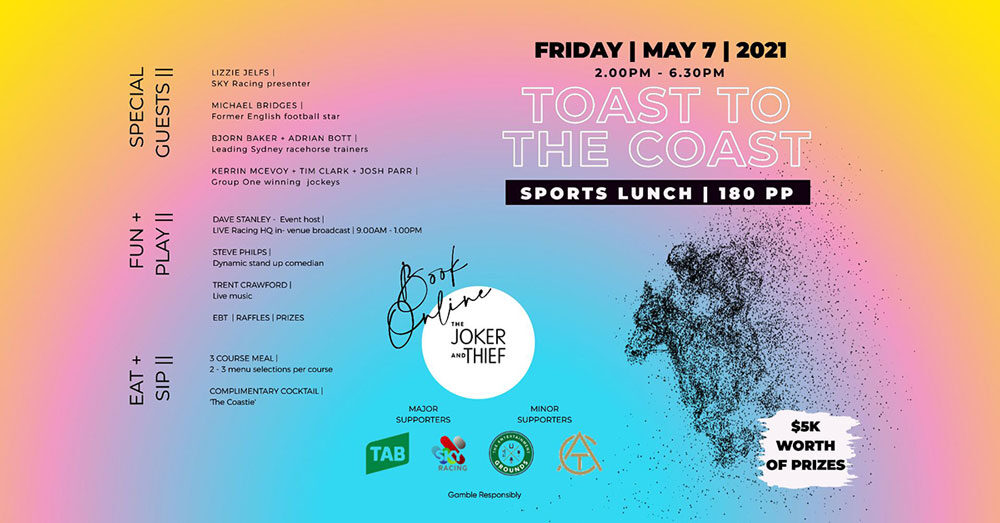 Toast to the Coast Sports Lunch - May 7 2021